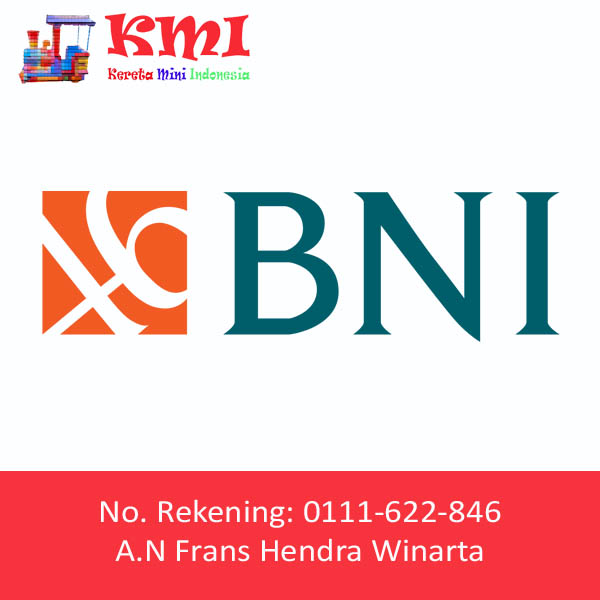 Nomor Rekening BNI Kereta Mini Indonesia