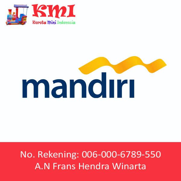 Nomor Rekening Bank Mandiri Kereta Mini Indonesia