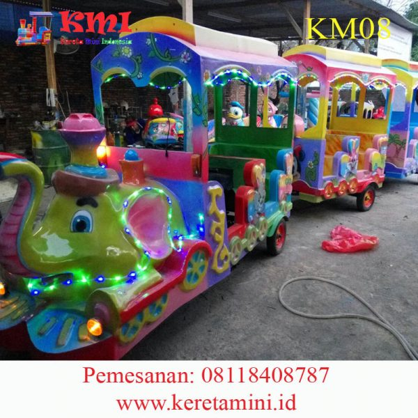 kereta gajah papua 2