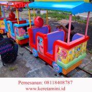 kereta rel full fiberglass kapasitas 14 anak 3