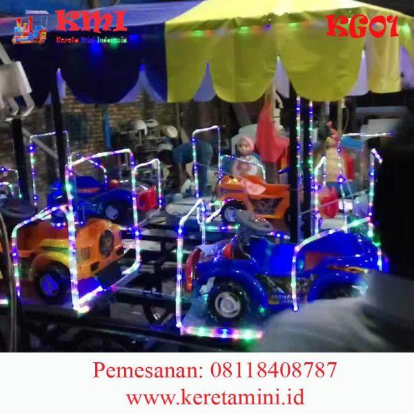 kereta gerobak mobil full lampu copy 2