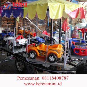 kereta gerobak mobil-mobilan 2