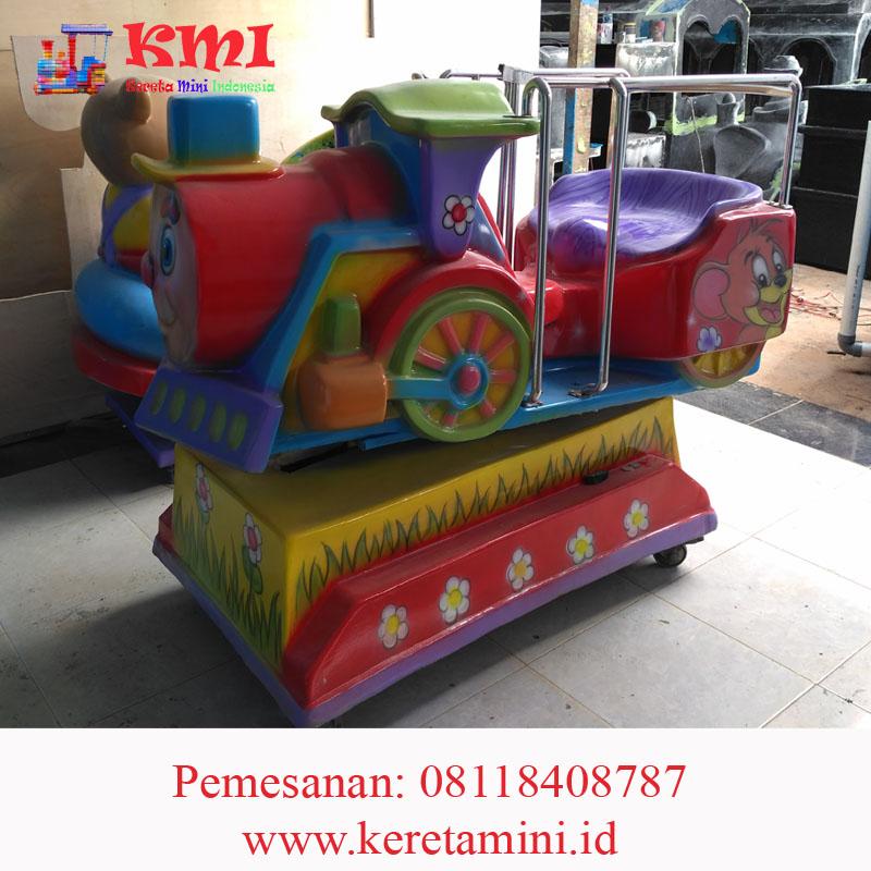 mainan koin kiddie ride kereta mini indonesia