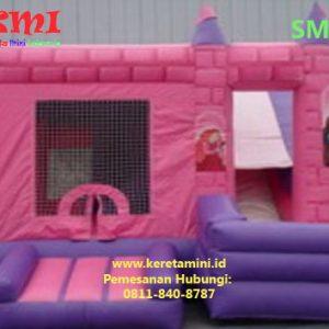 Istana balon kereta mini indonesia