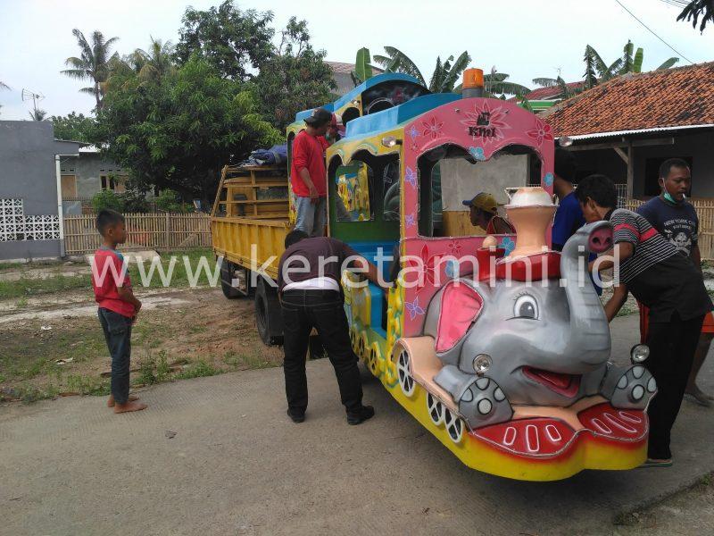 kereta motor kepala gajah odong2