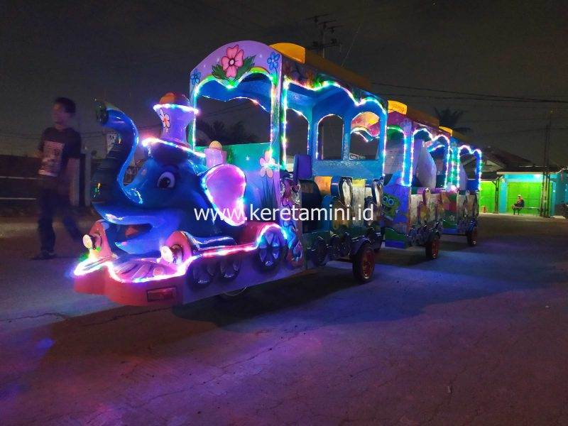 kereta motor gajah musi banyuasin palembang